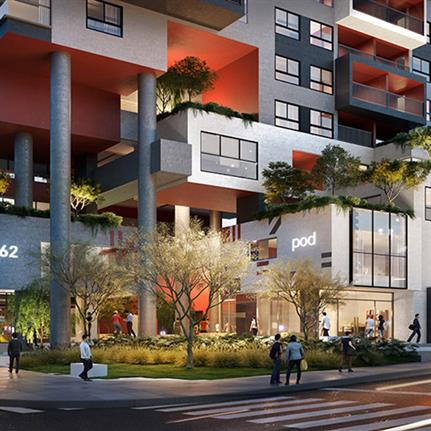 Four Future Projects: Mixed Use category