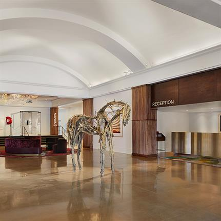 Art inspired US hotel collection goes beyond model of lobby, cafe, and bar