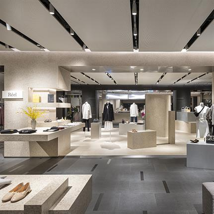 High-End shopping reimagined in China with 'rhythm, geometry and space'