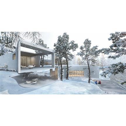 2020 WAN Awards entry: Chongqing Sina, Fairy Mountain Unroofed Library - Shanghai ORI-A Planning & Design Co., Ltd.
