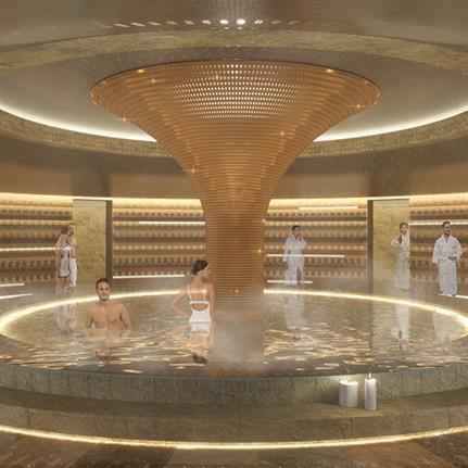 Cipriani wellness areas designed by Studio Apostoli in Uruguay and Milan