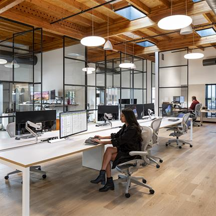 Studio Ma design challenges the idea of what an office should look like when we return post-coronavirus