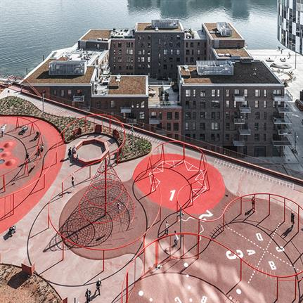 Parking House and Konditaget Lüders by JAJA Architects wins prestigious Danish Design Award 2020 'Liveable Cities'