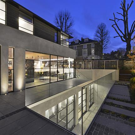 Three storey London house and new family home for four generations in Hertfordshire by Square Feet Architects