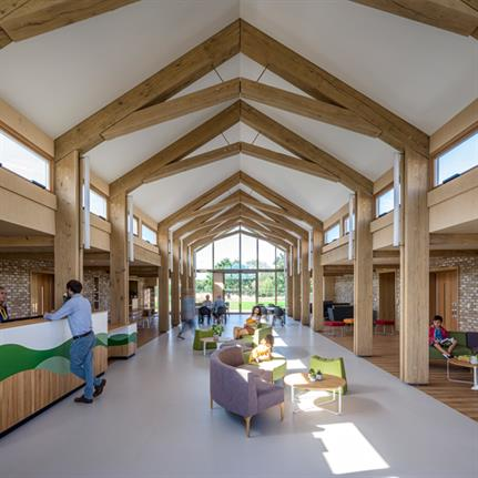2020 WAN Awards entry: The Ark, Noah's Ark Children's Hospice - Squire & Partners