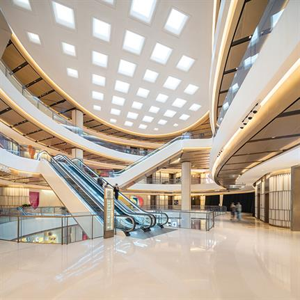 BFC South Mall in Shanghai completed by Kokaistudios