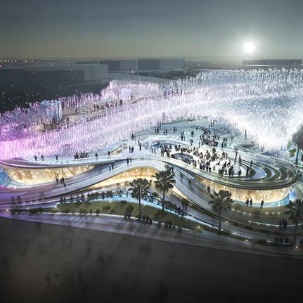 Cloud proposal for an Expo Pavilion pushes futuristic design to the limits