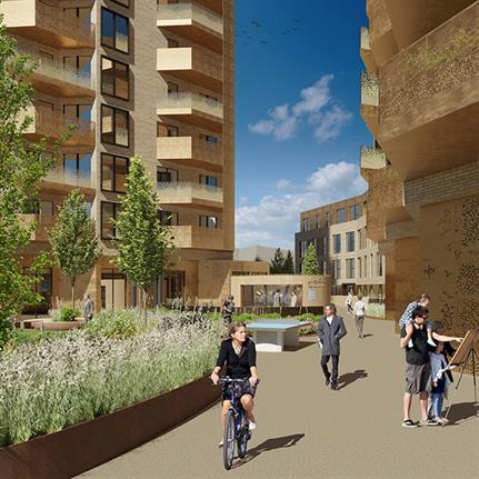 New images reveal stunning £60m Hove housing development
