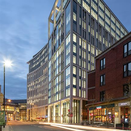 Landmark launches with Squire & Partners' first Manchester built project
