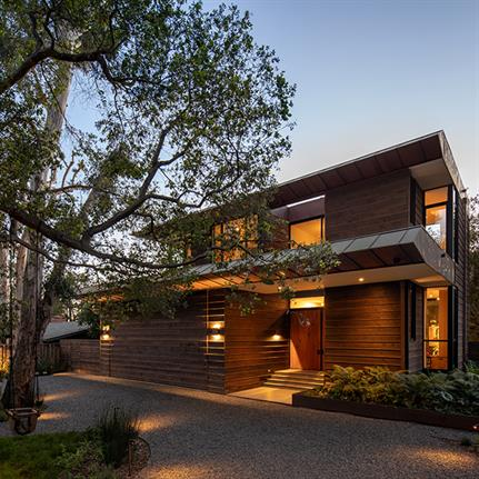 Los Angeles home in Santa Monica Canyon by Conner + Perry showcases world-class art collection