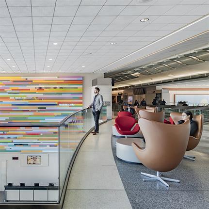 Woods Bagot improves passenger experience at San Francisco International Airport