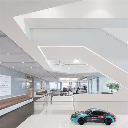 Porsche HQ wins duo architect team the ABC awards