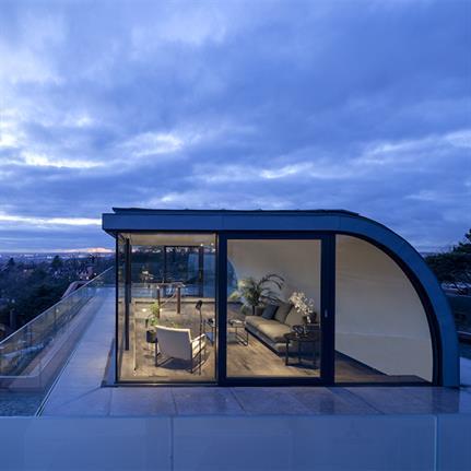 Ungar Architects urban treehouse