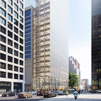 Quadrangle partners with Herzog & de Meuron's first tower design in Toronto