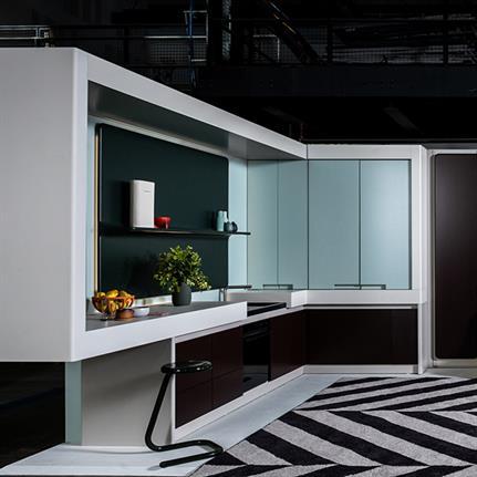 Michael K. Chen Architecture's micro-housing concept for Häfele