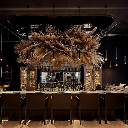 China's Charcohol splices interior design with the culinary arts