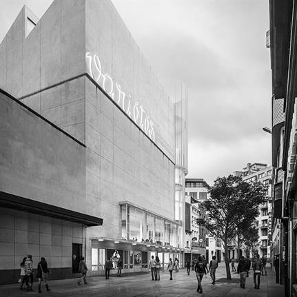 Winners Flores & Prats + Ouest Architecture to renovate the Ancien Théâtre des Variétés in Brussels