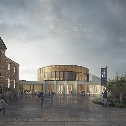 Winner of National Railway Museum Central Hall Design Competition Revealed