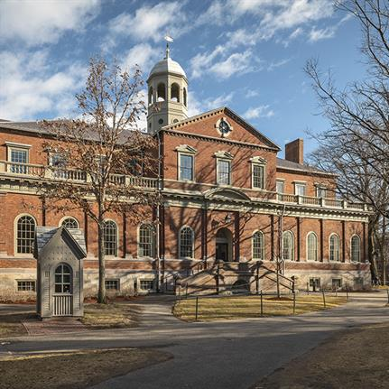 Bruner/Cott Architects preserve and restore Harvard Hall