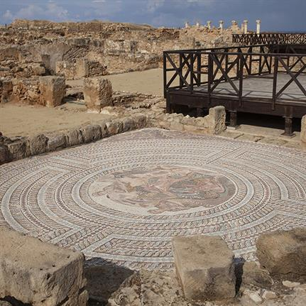 Competition shortlist for ancient mosaics protective shelters
