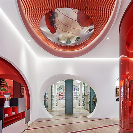 Pierre Cardin's first home showroom opens in Shanghai