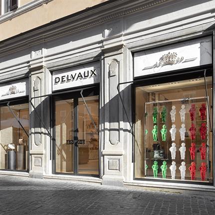 La Maison Delvaux's first boutique in Rome