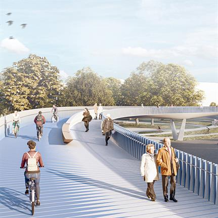 Bridge Heidelberg wins first prize