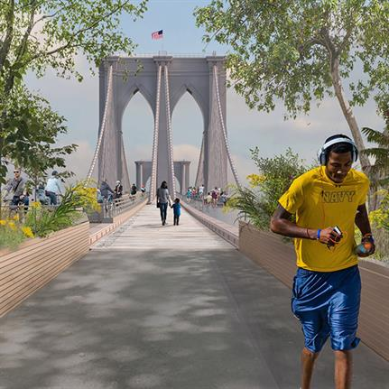 Brooklyn Bridge Forest design wins international competition