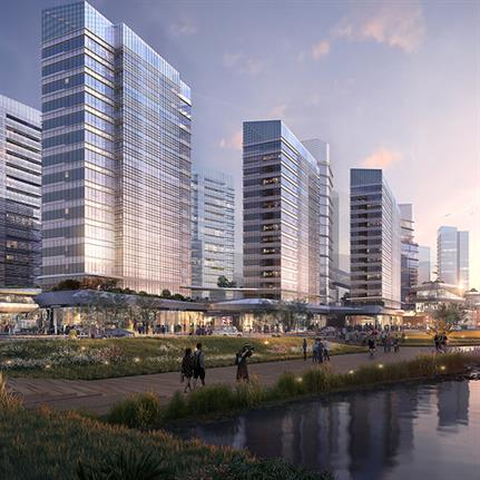 RMJM RED win competition for the Ningbo Yongjiang Innovation Centre