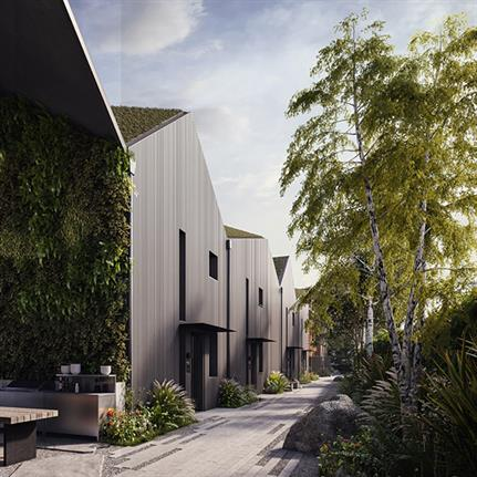 UK to showcase the world's first carbon and energy positive, zero waste homes
