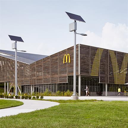 Disney's McDonald's: Florida's first eco friendly fast food flagship