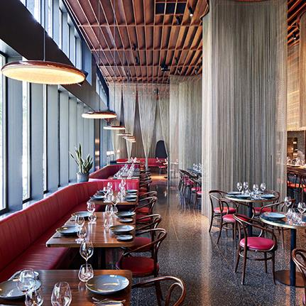 Dinner and a show: Serie Architects complete Mumbai's Qualia