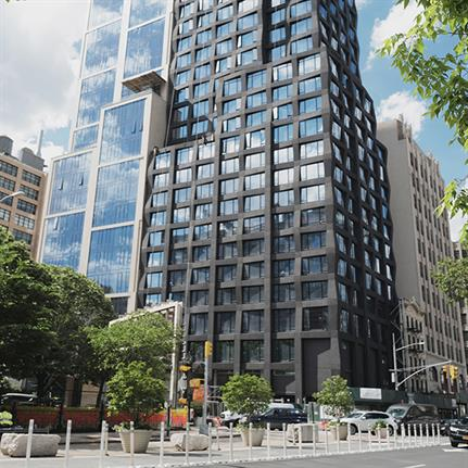 S9 Architecture's 111 Varick Street tops out in NY