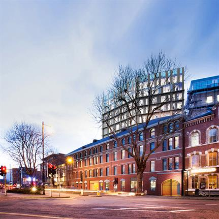 Planning permission to repurpose Belfast's warehouse into an aparthotel awarded