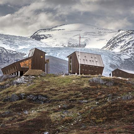 Tungestølen: Snøhetta's constellation of pentagonal tourist cabins for Norwegian hikers