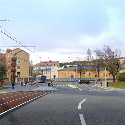 Sweco's design for Tampere tramway's second phase benefits sustainability target