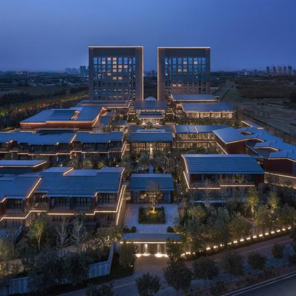 LWK + PARTNERS lights up China's Hebei Grand Hotel