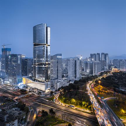 Aedas design Shenzhen's super high rise Shuibei International Centre