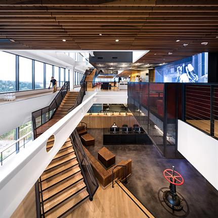 2019 WIN Awards: Valve Headquarters - Clive Wilkinson Architects (Design Architect) and JPC Architects (Executive Architect)