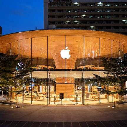 Foster + Partners open Apple Central World in Bangkok