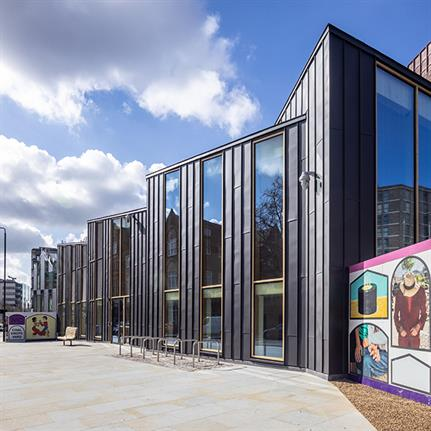Strong sustainability credentials for King's Cross Sports Hall