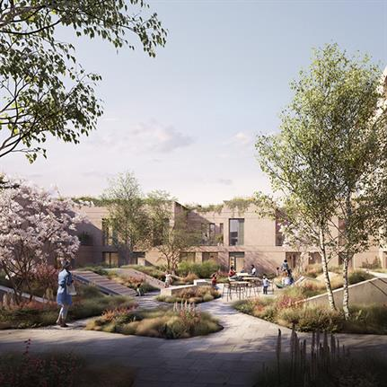 Curl la Tourelle Head Architecture receives consent for Morland Gardens scheme