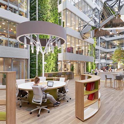 WELL, BREEAM and a mossy dream: office interiors of 2020