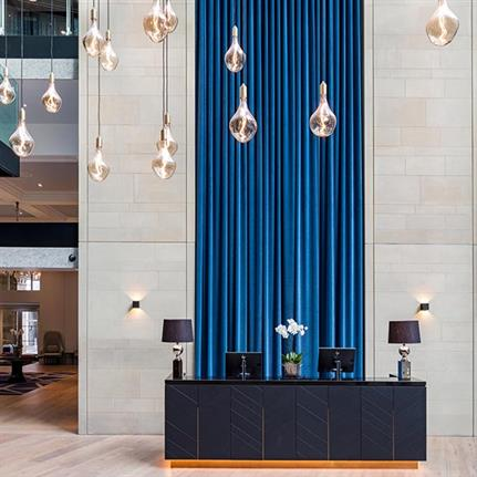 2019 WIN Awards: Radisson Blu Edwardian Manchester - Lighting Design International