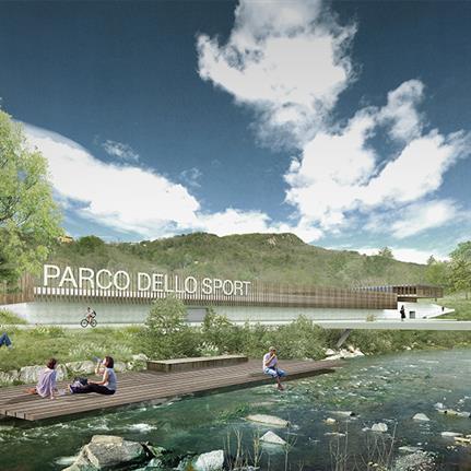 LAND design Switzerland's Parco dello Sport