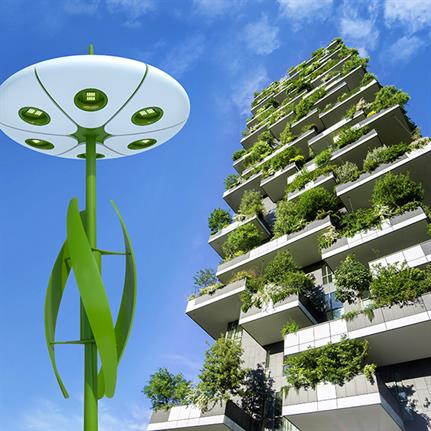 Plants inspire architect's designs for LumineXence's Smart City Design Solutions