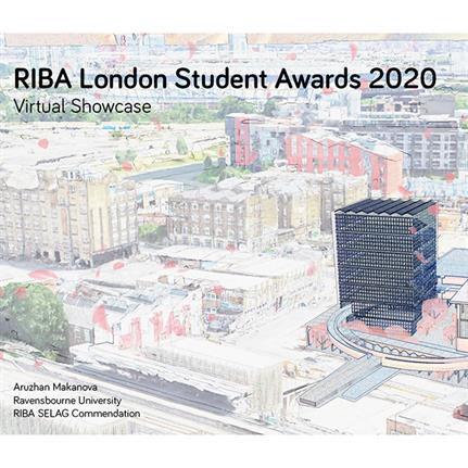 London South Bank University students win RIBA Master of Architecture awards