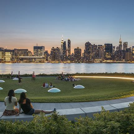 Two awards for Hunter's Point South Waterfront Park