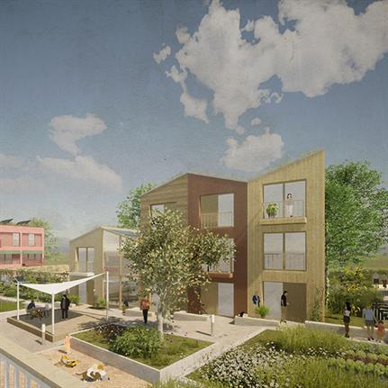 Studiomauer and Cityförster win first prize in Hanover's ecovillage competition