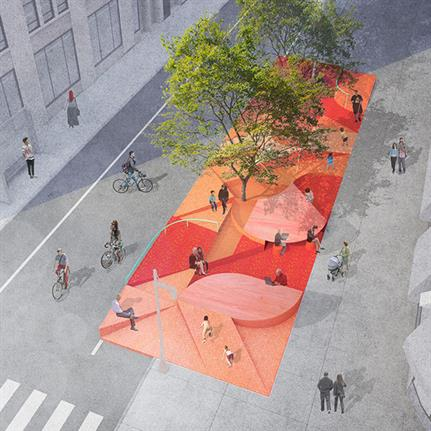 WIP Collaborative's Restorative Ground proposal wins competition